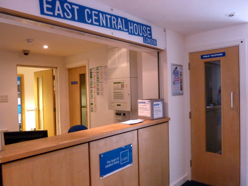 East Central House Reception Board