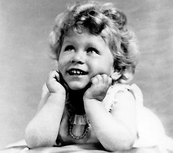 Будущей королеве Британии - 2 годика. 1928 г.