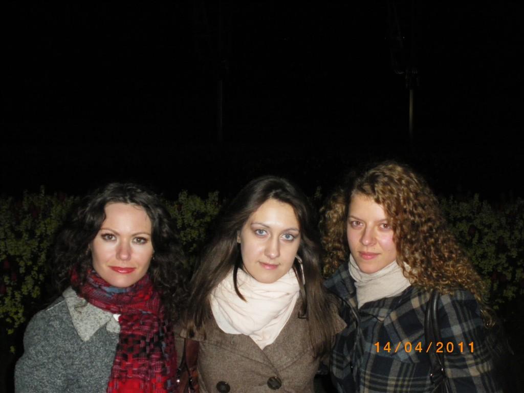 Полина - первая слева