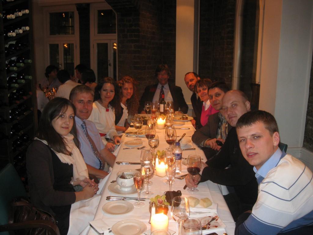 Вознаграждение за продуктивный учебный день для каждого: ужин в «fancy» ресторане
