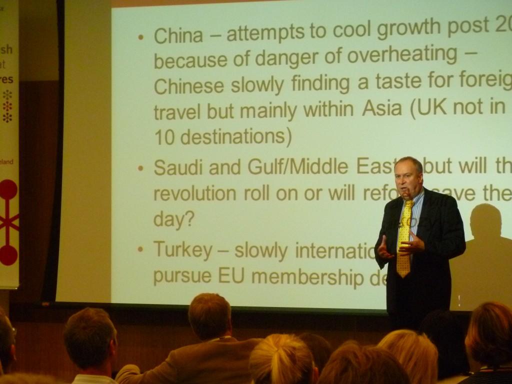 Доклад Тони Милса, Chief Executive, English UK