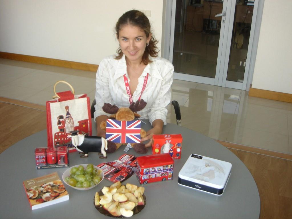 Я и подарки из Англии