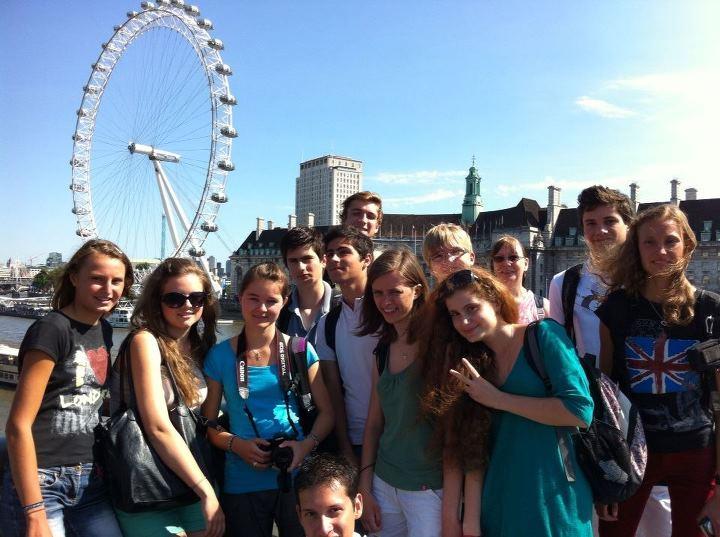 Мы на фоне London Eye