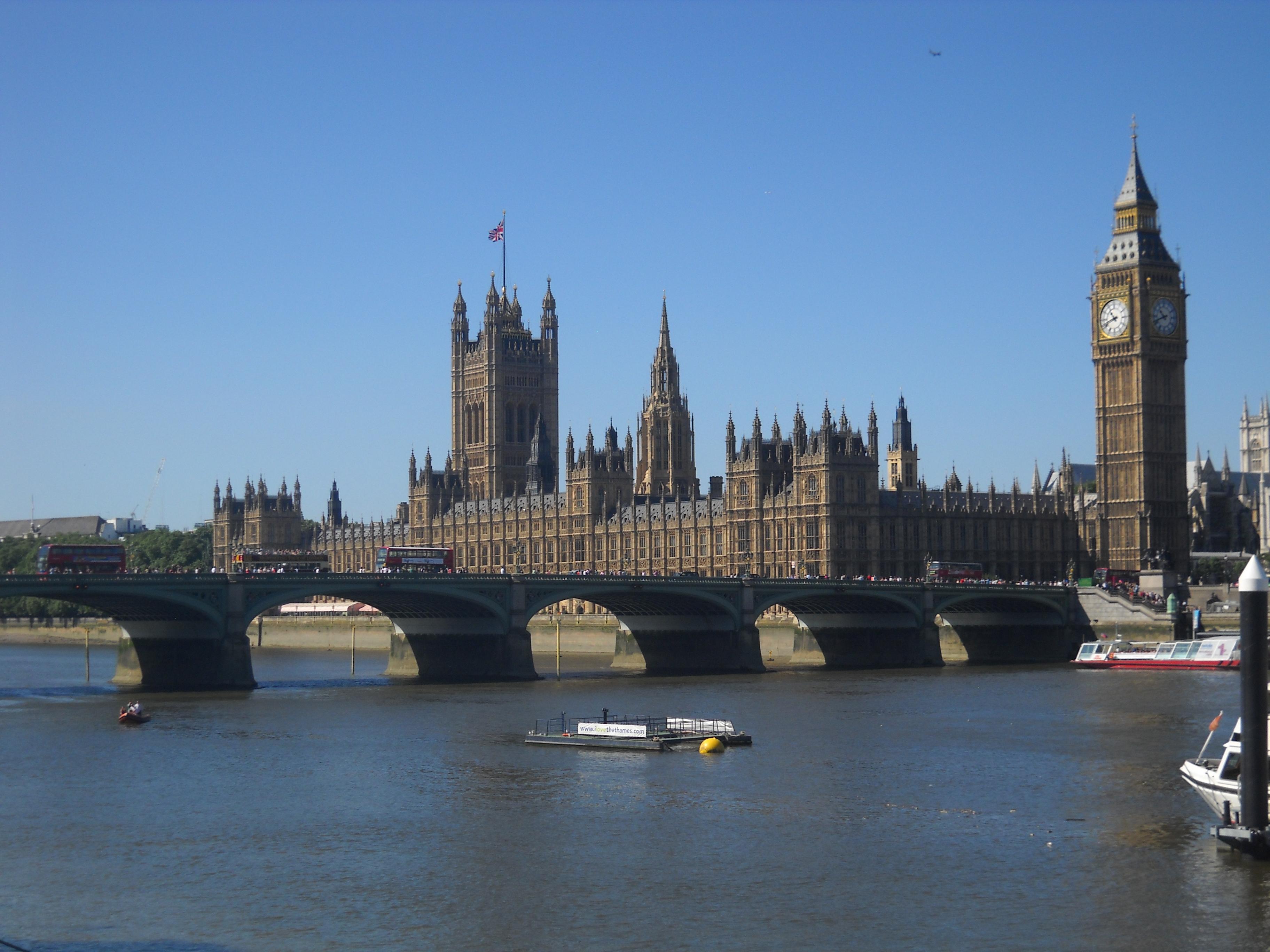 Ясное небо Лондона