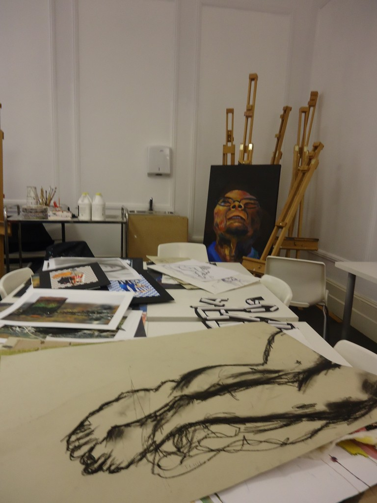 Art Room в колледже CATS, Лондон