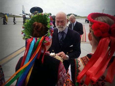 В Украину прилетел британский принц