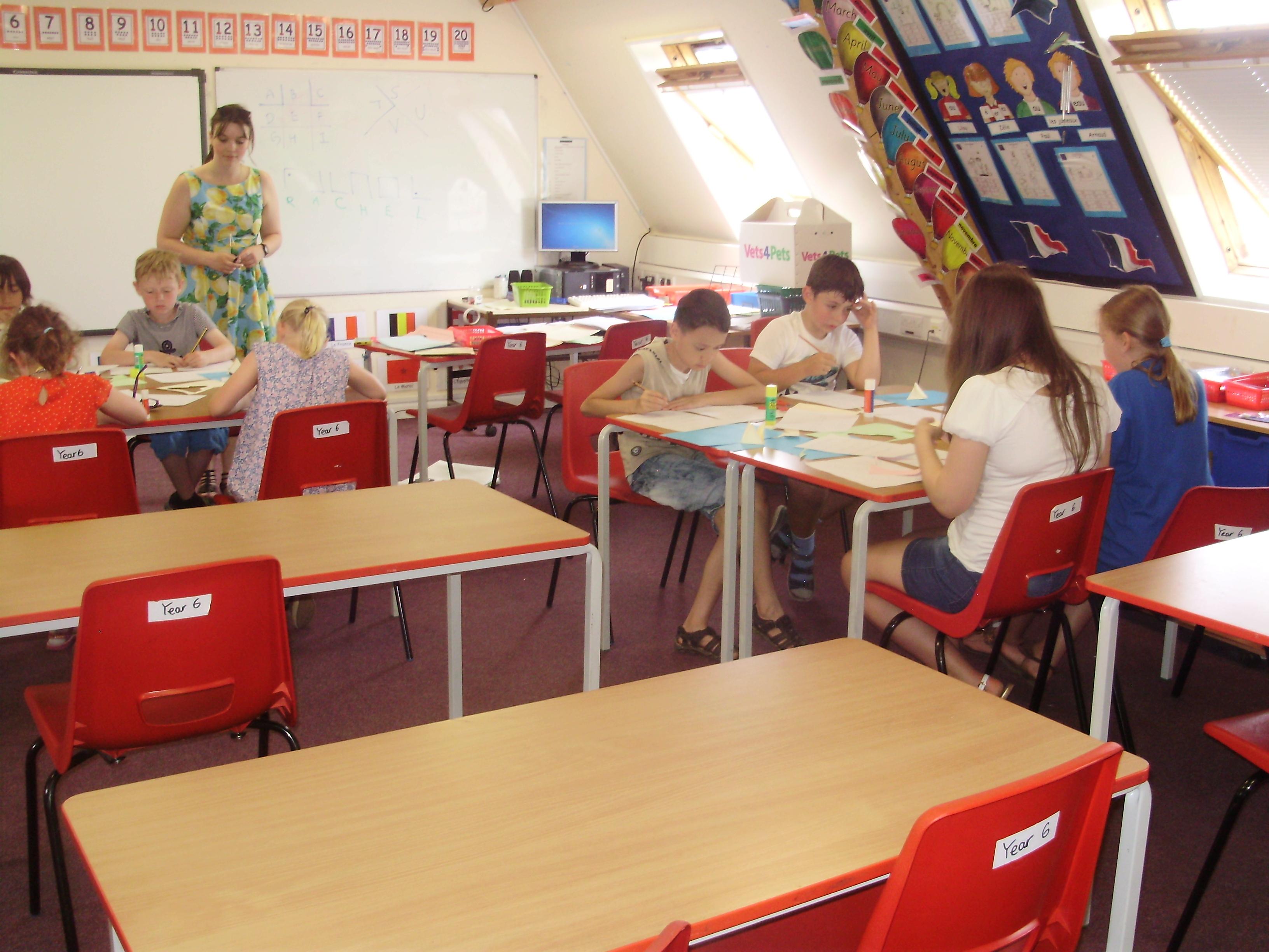 Занятия в Moreton Hall School