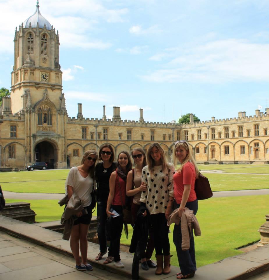 На экскурсии в Оксфорде (Крайст-Черч)