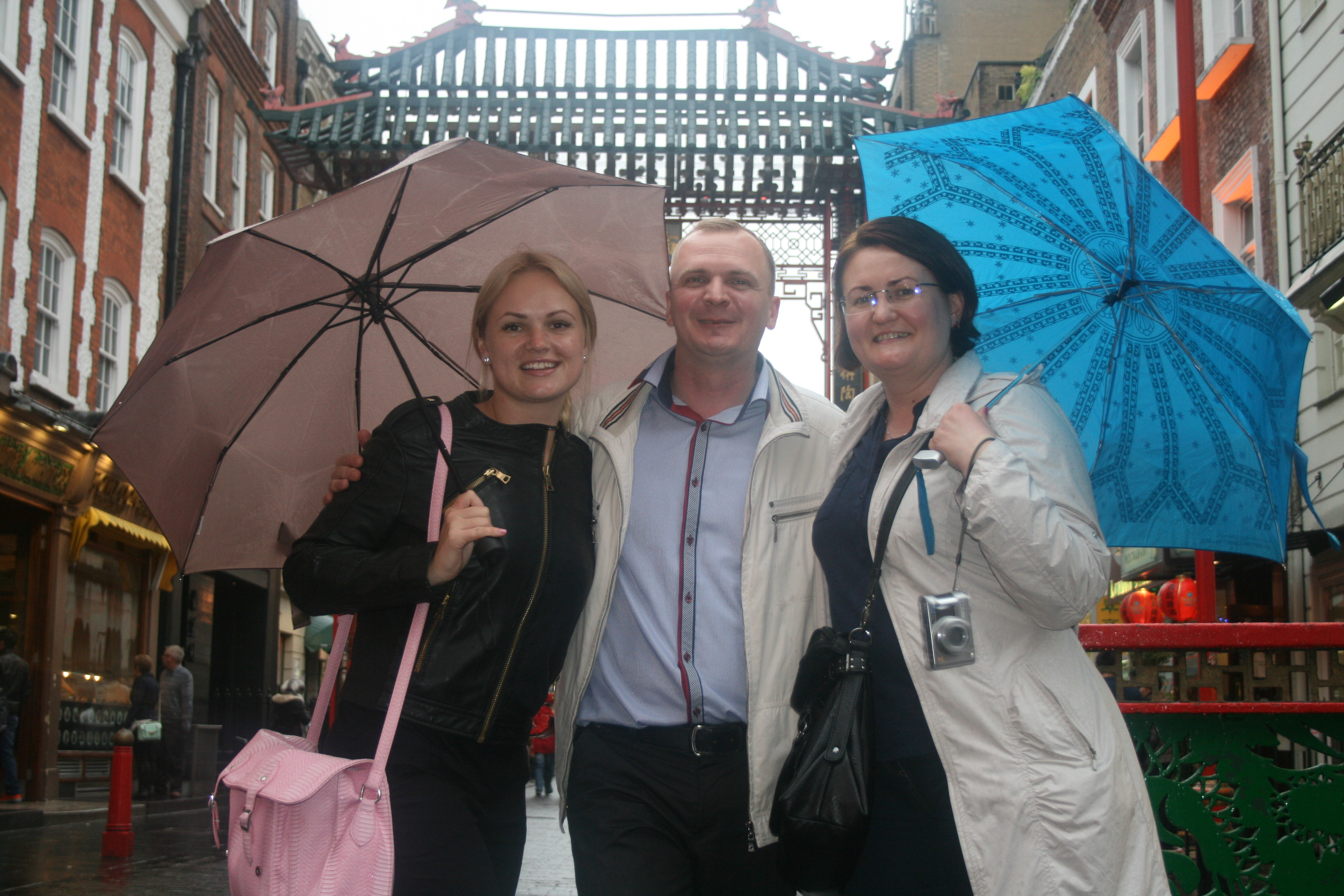 В Лондоне (я – слева :))