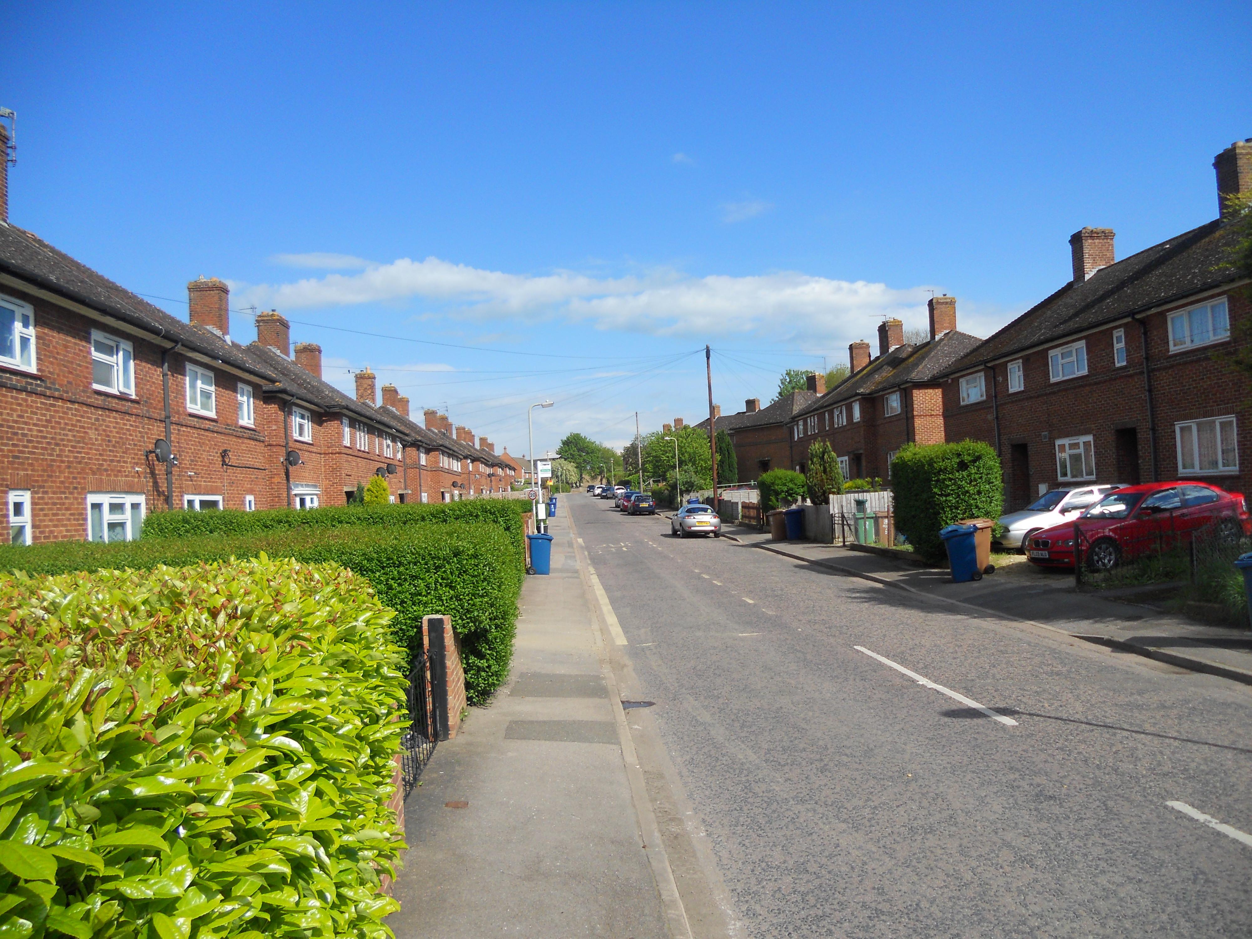 район, где жил в Оксфорде