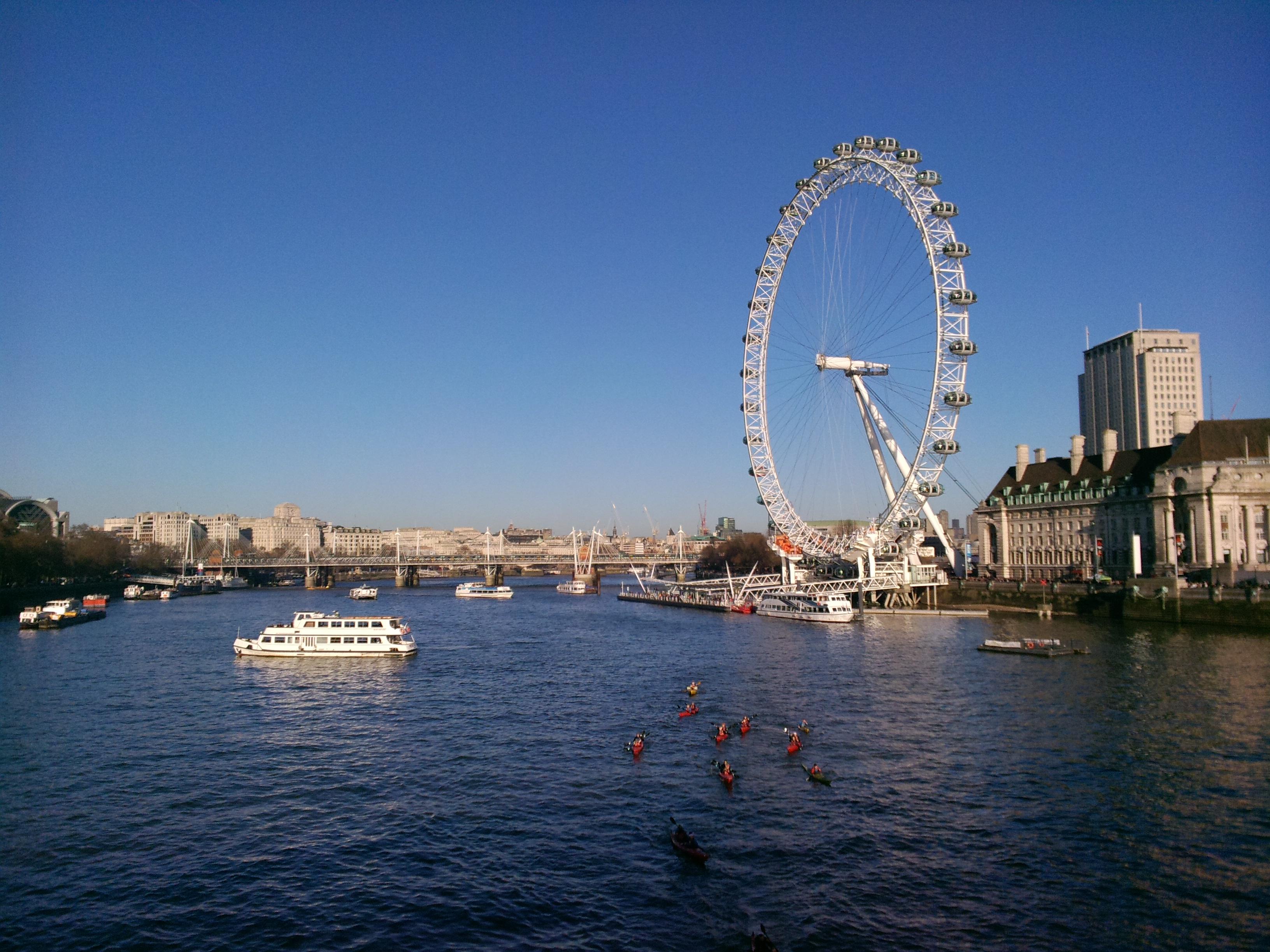 Візитна картка Лондону - The London Eye