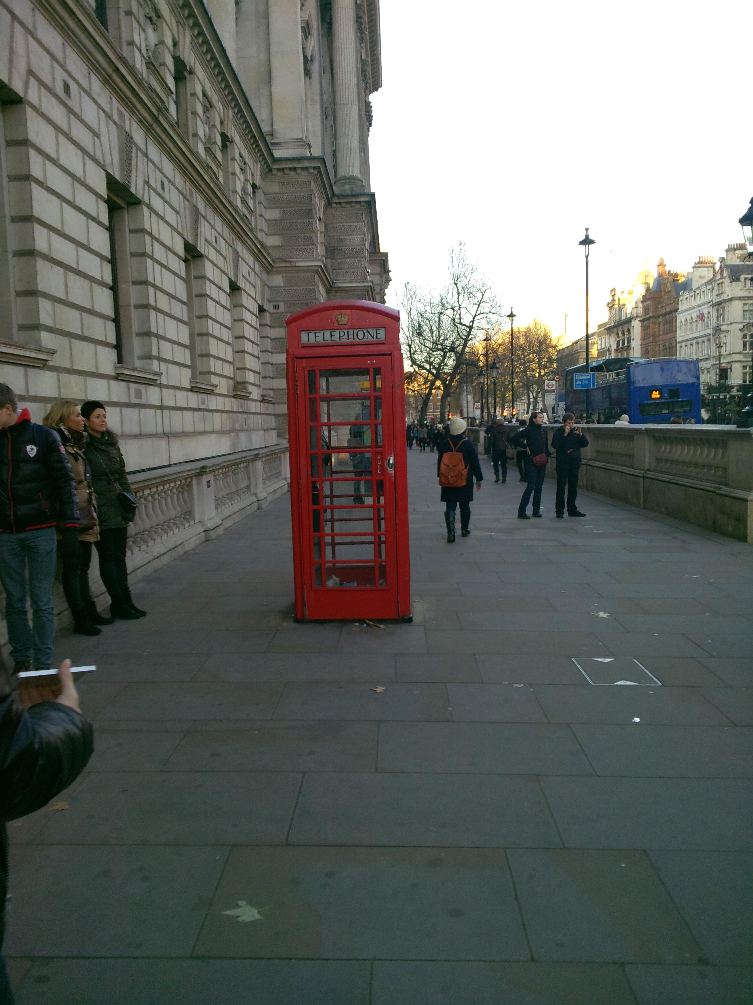 Славнозвісні телефони Англії