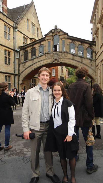 Після 1,5 років життя в Оксфорді Катерину з чоловіком вже важко назвати туристами