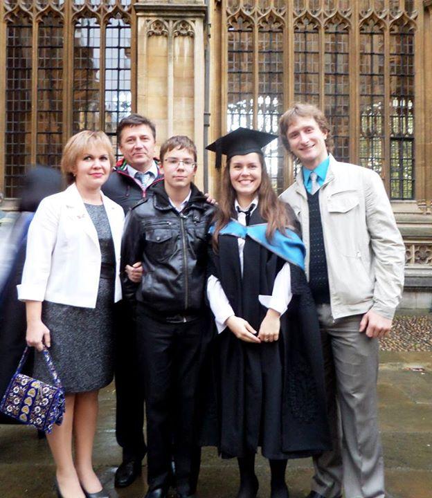 фото з сім'єю