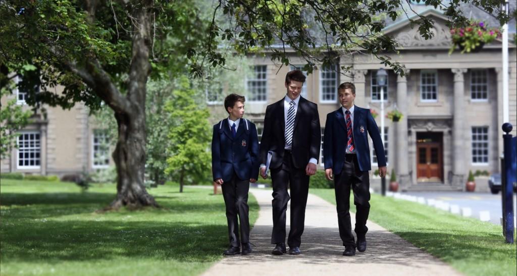 Ученики школы «Меркистон Касл»
