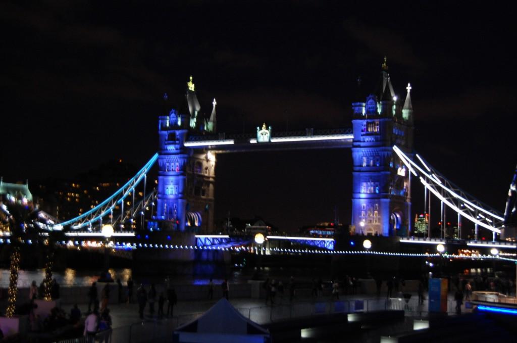 Tower Bridge at night :)
