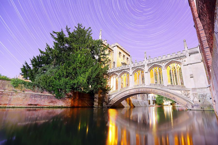 Мост St Johns в Кембридже. Фото: James Appleton Photography