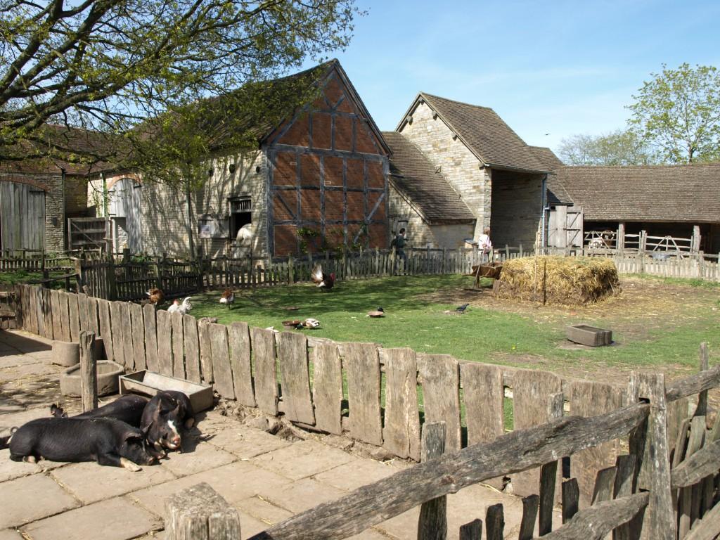 Тюдоровская ферма — дом детства матери Шекспира Мэри Арден