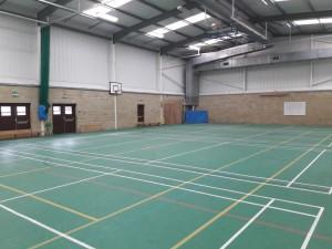 Школьный спортзал