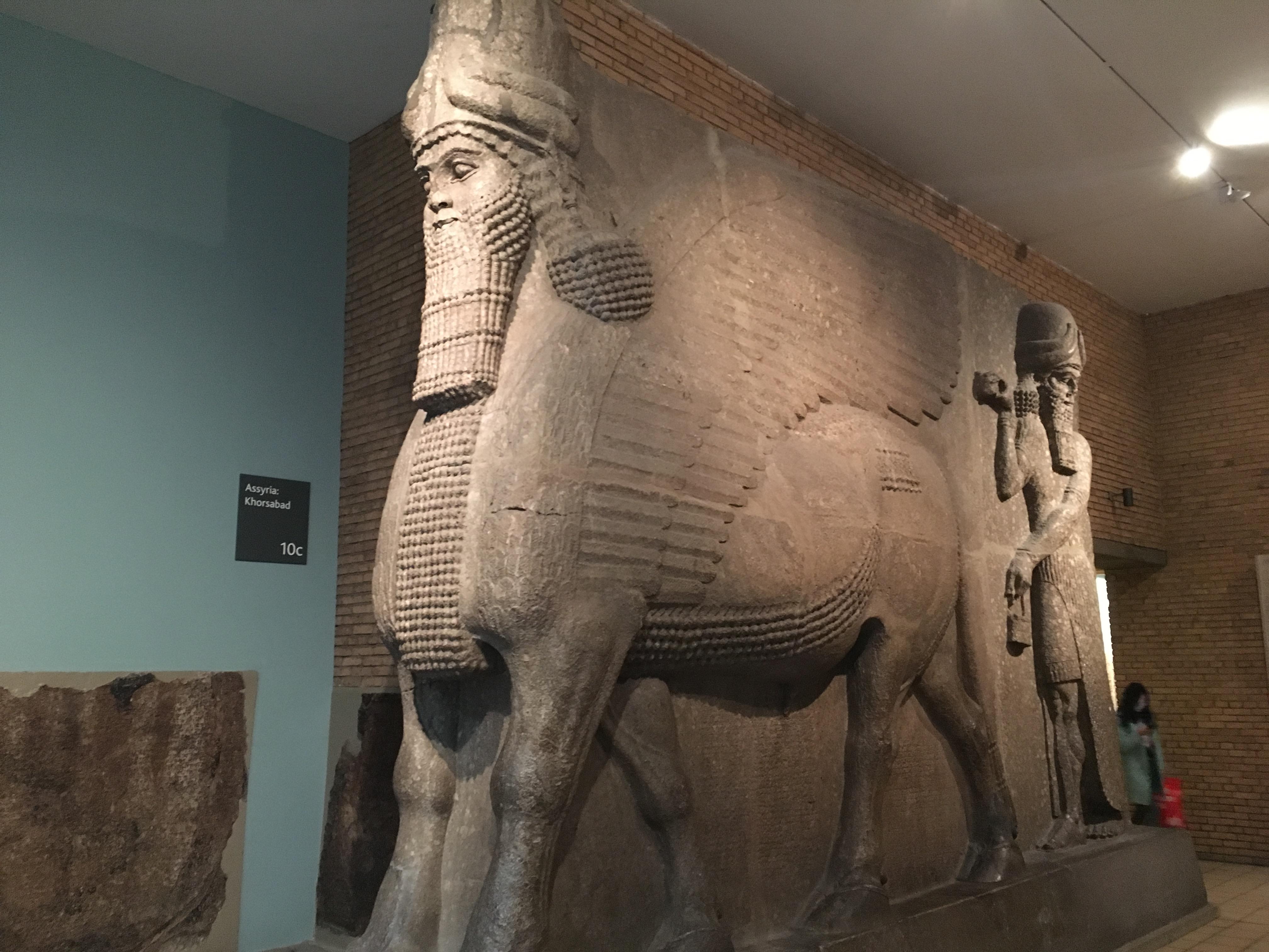 Экспозиция в Британском музее