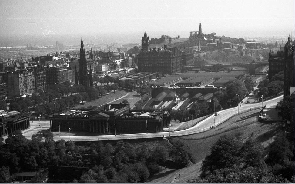 Историческое фото Эдинбурга