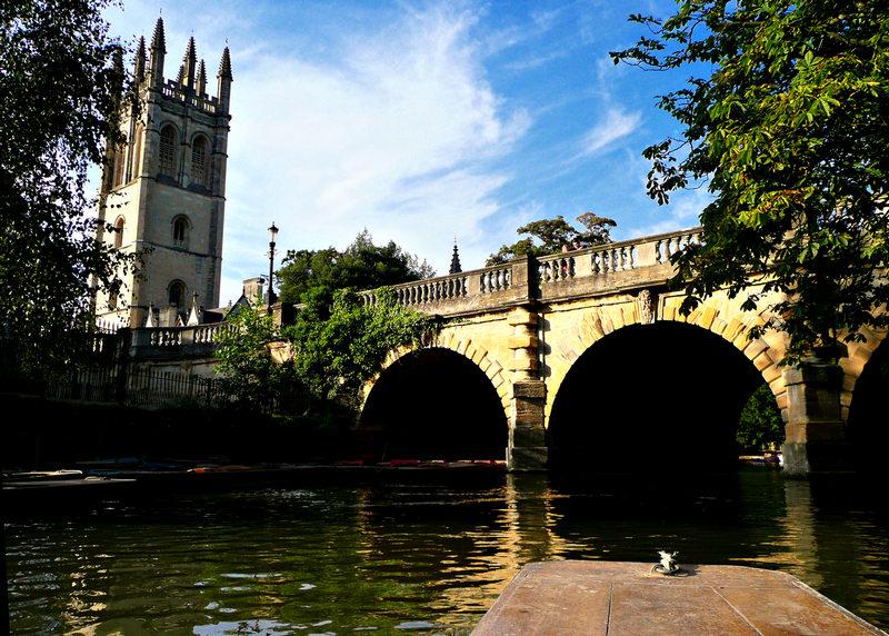 Magdalen Bridge , Оксфорд