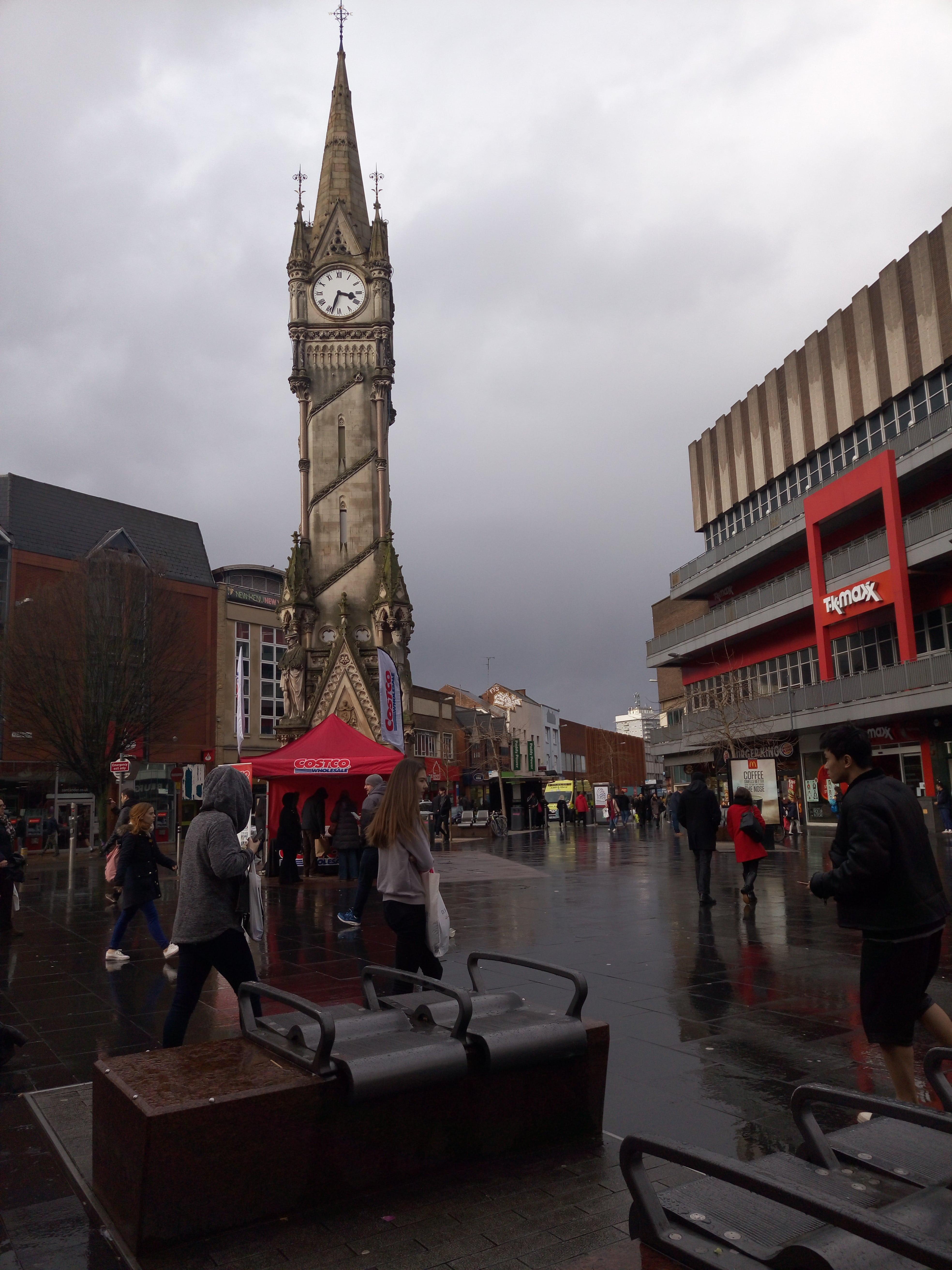 Leicester Clock – одна из основных достопримечательностей города