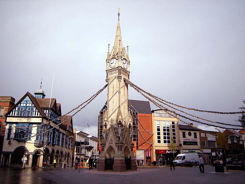 городок Leicester