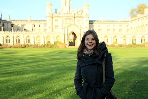 В Кембридже!)