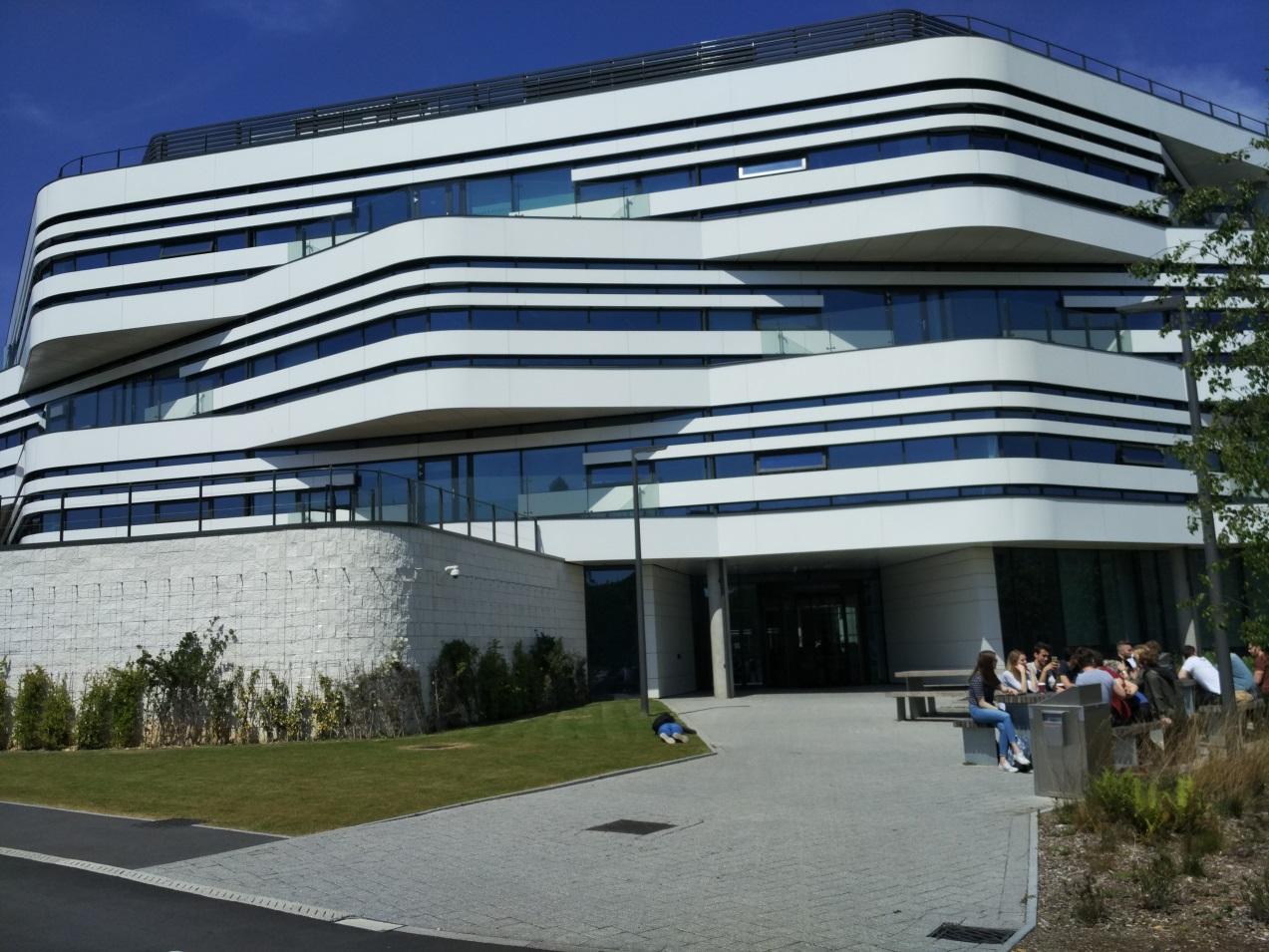 Новый кампус Fusion Bulilding