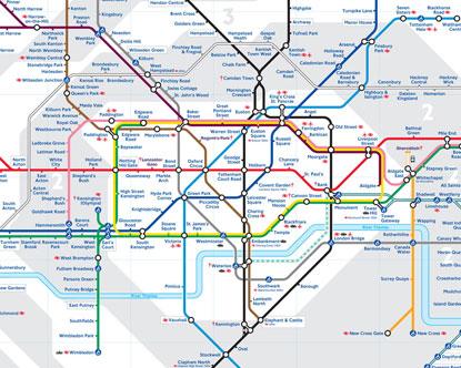 О том, сколько линий метро в Лондоне вам расскажет карта метро Лондона по зонам.  На ней вы насчитаете 12 метро линий...