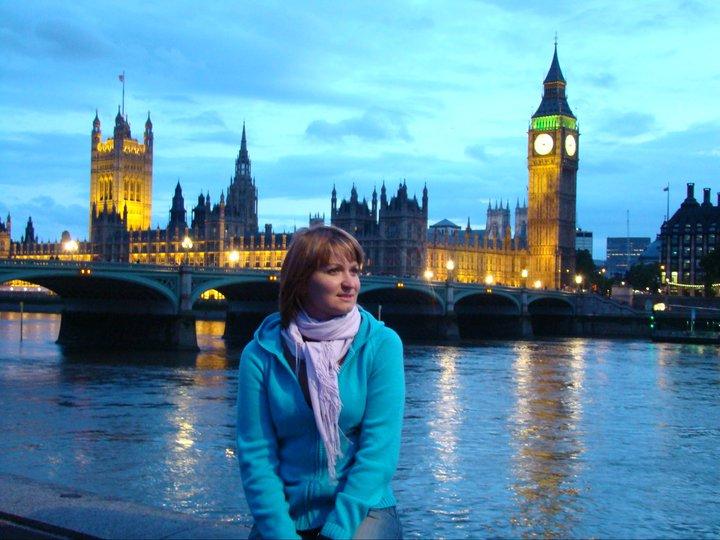 Наталья Мюллер: Лондон