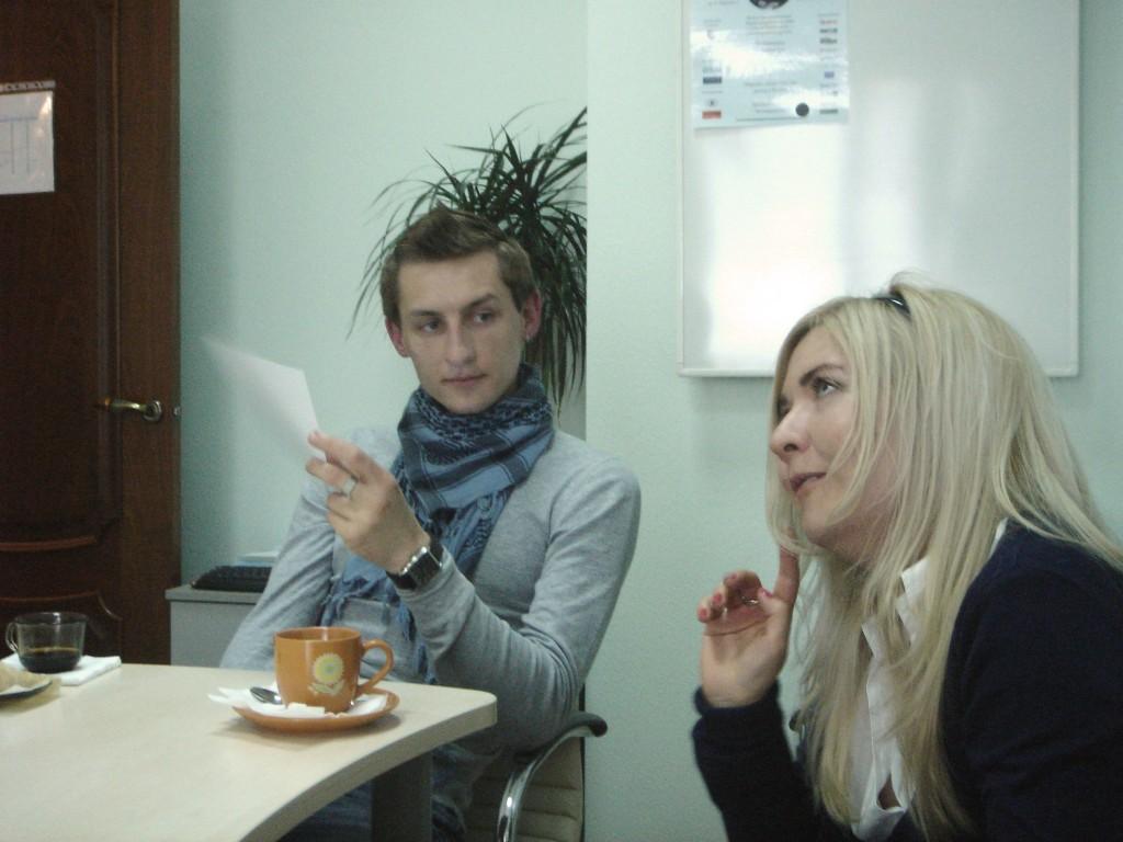Наши блогеры в гостях у «бизнес-Линка»