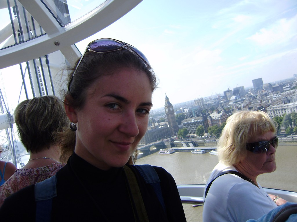 Я в капсуле London Eye! Биг-Бен сверху