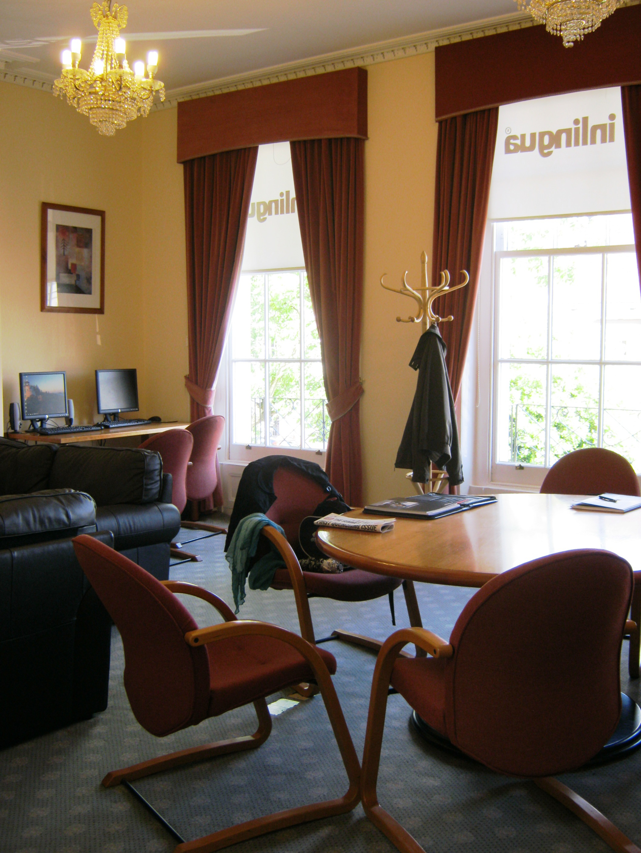 Комната отдыха в бизнес-центре Inlingua Cheltenham