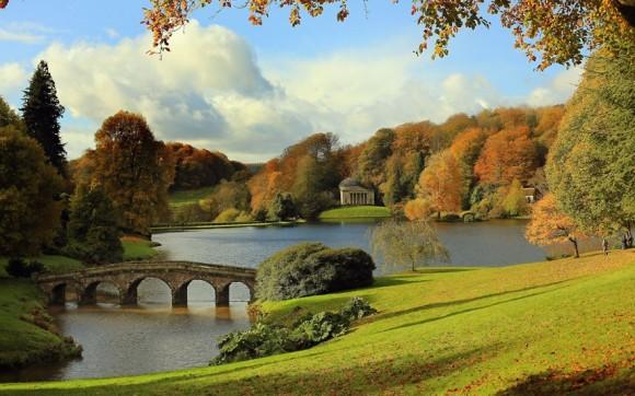 осень в англии фото