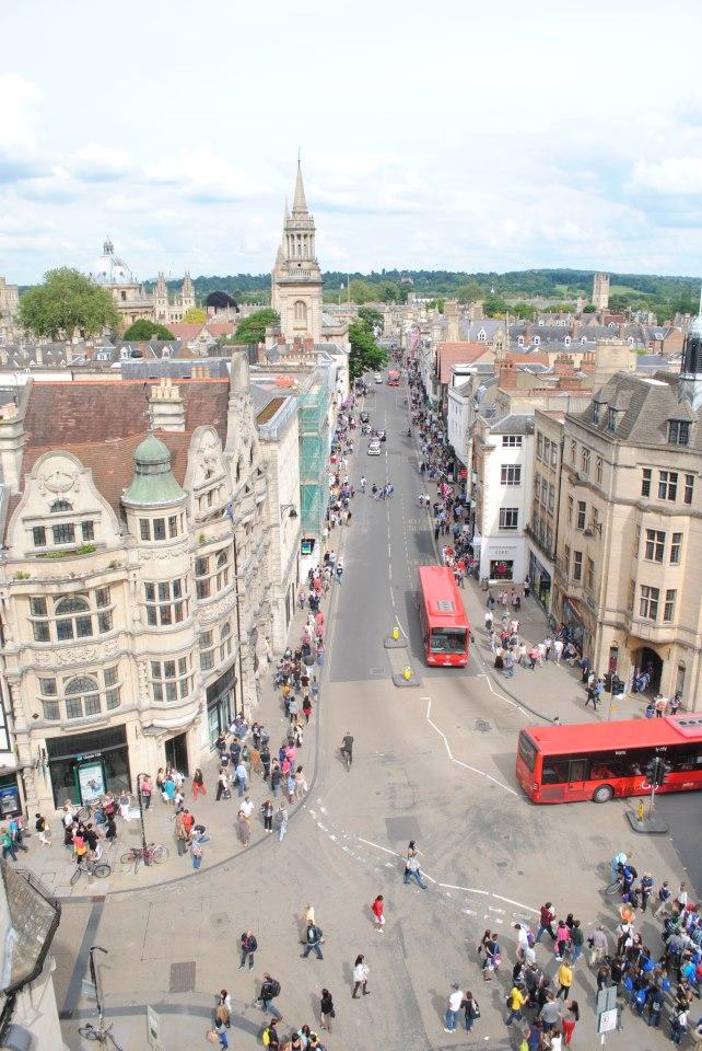 Оксфорд: вид сверху