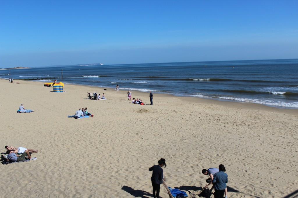 Пляж Борнмута