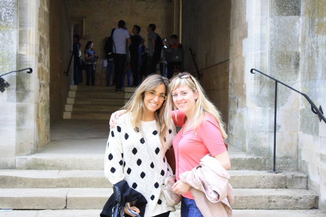 На экскурсии в Оксфорде