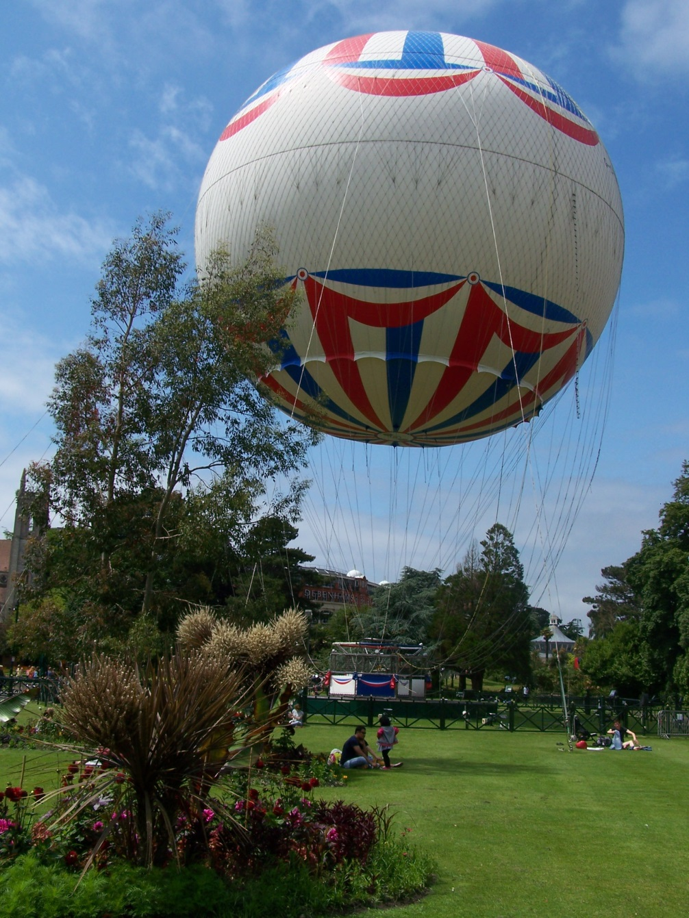 Прогулка на воздушном шаре, Борнмут