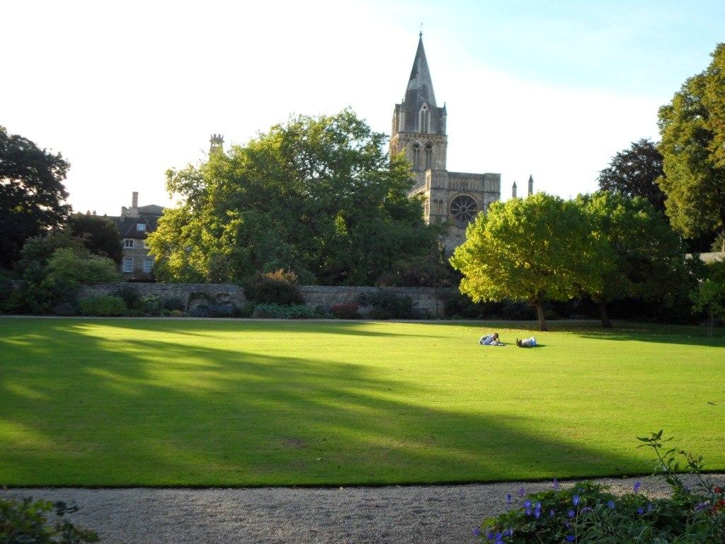 В одном из колледжей Оксфорда