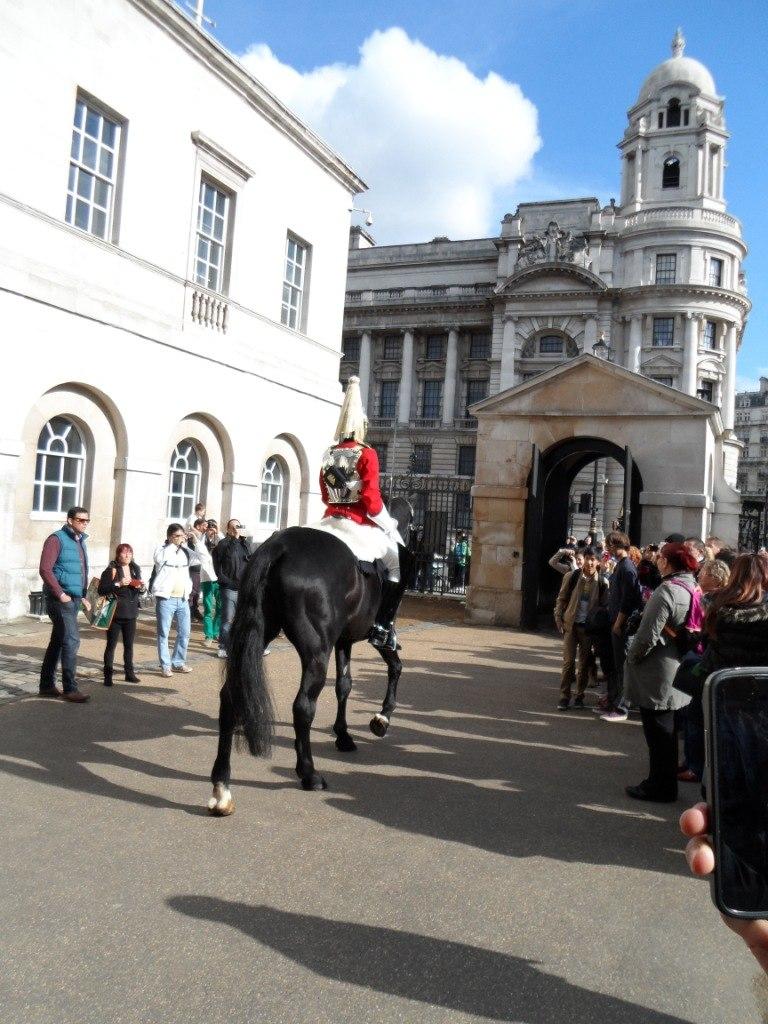 Cмена конного караула в Лондоне