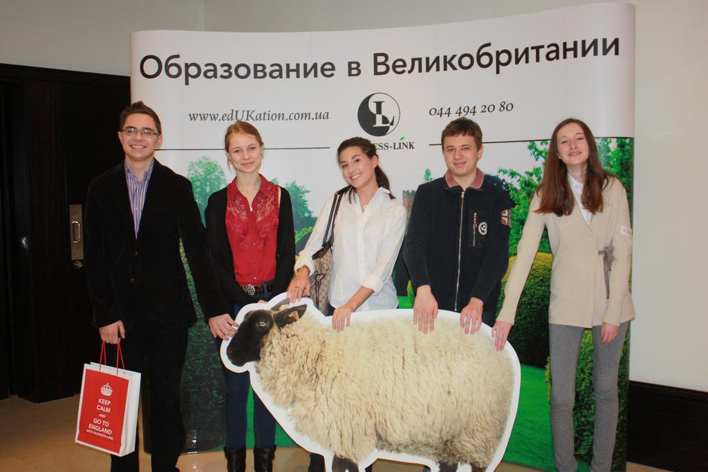 Украинские ребята, которых мы отправили учиться в Англию