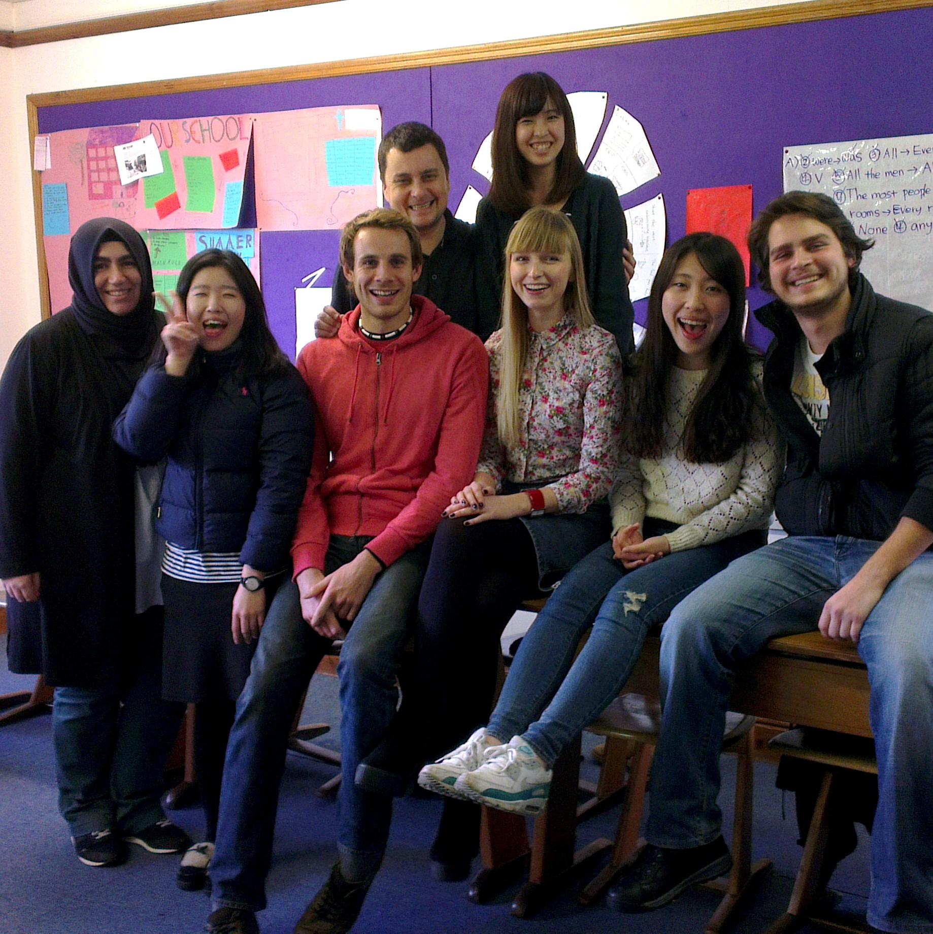 Я в окружении одноклассников :)