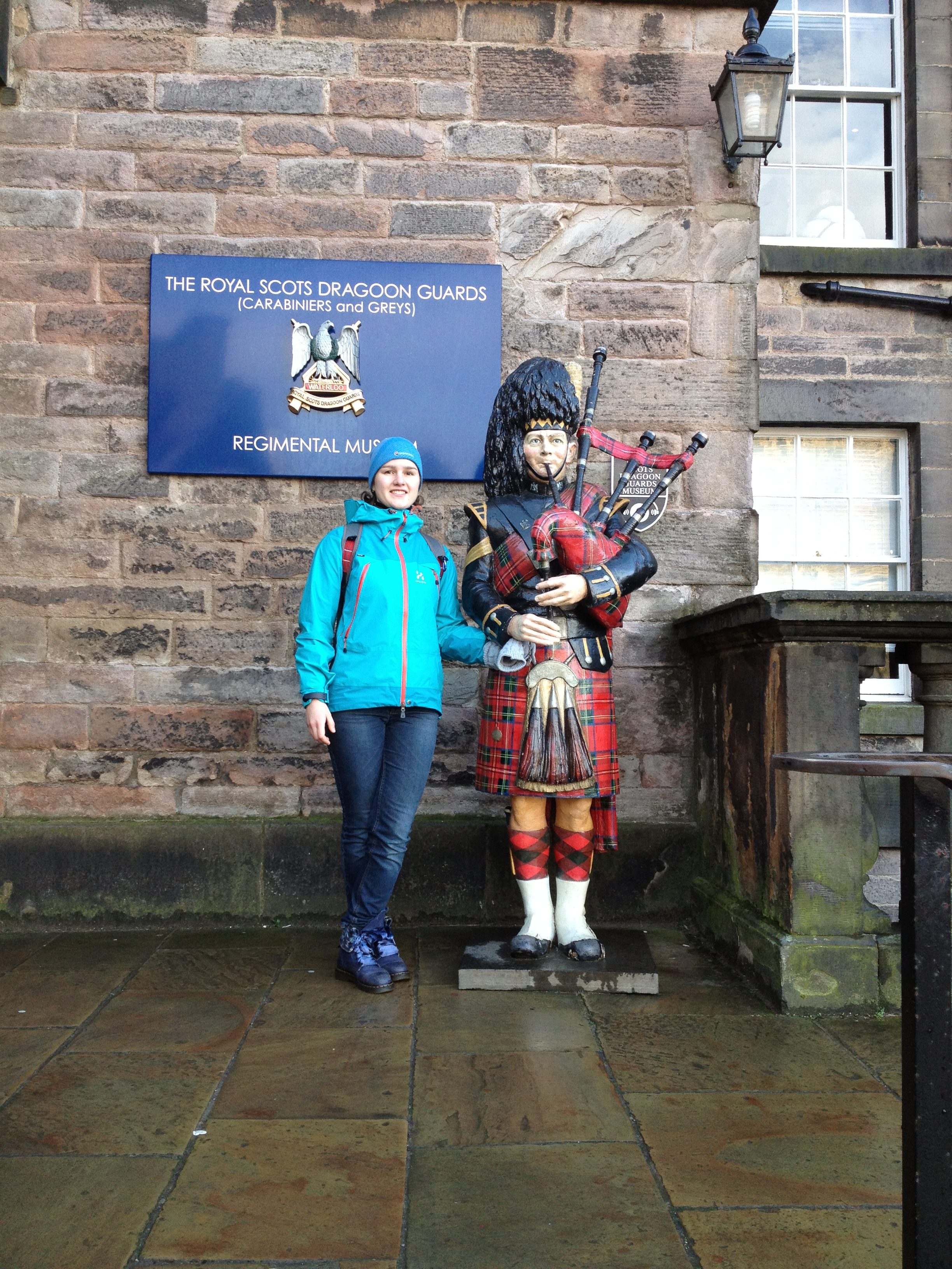 В Эдинбургском замке