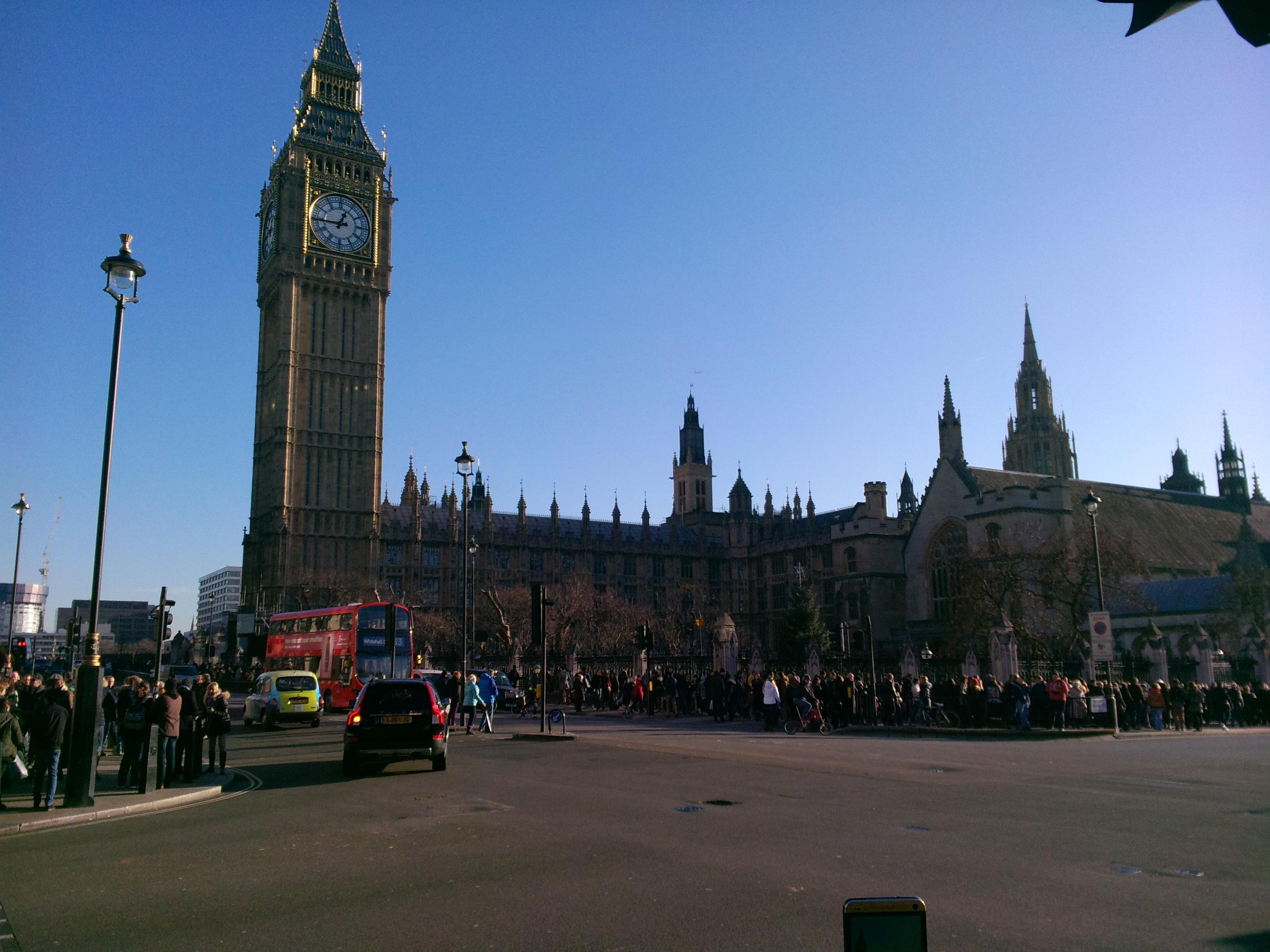 Вгадайте, що це) Звичайно, Big Ben.