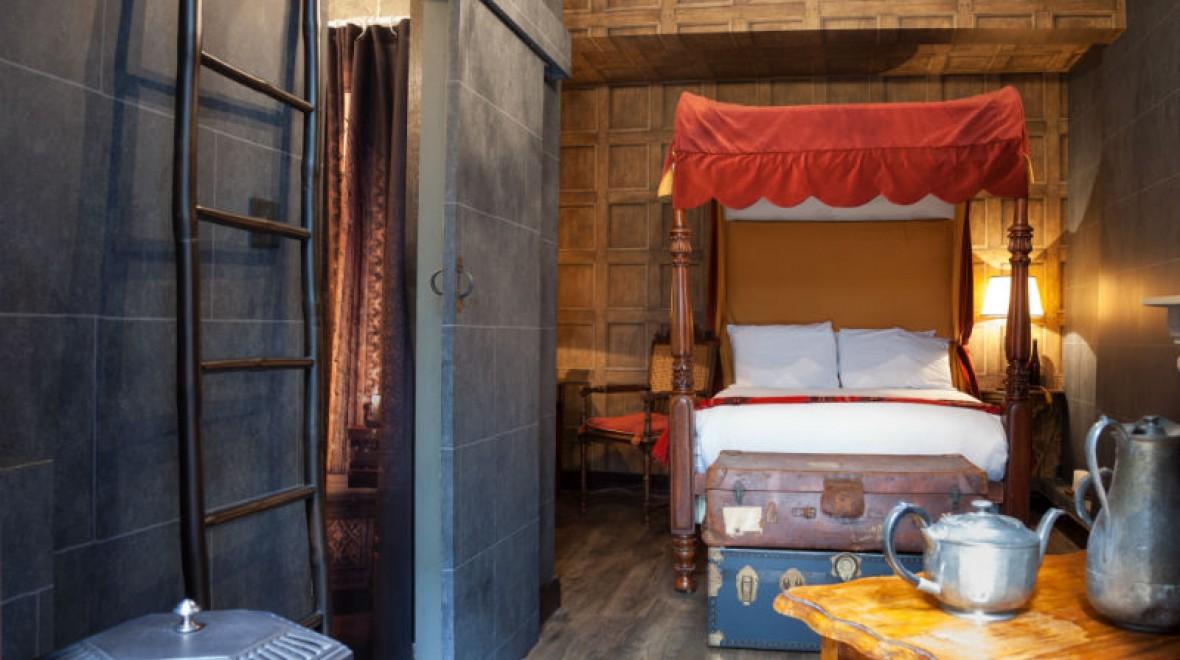 В спальне Гриффиндорцев