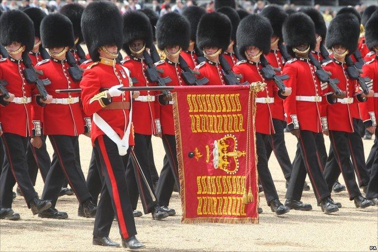 гвардейцы Гренадерского полка