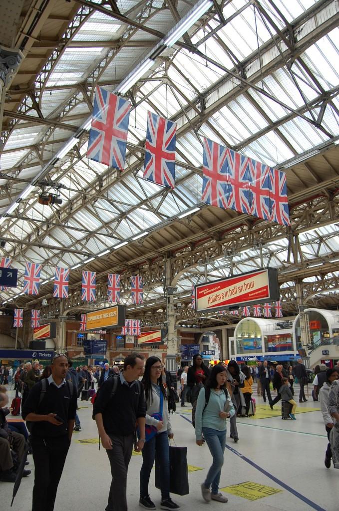 Железнодорожный вокзал Виктория