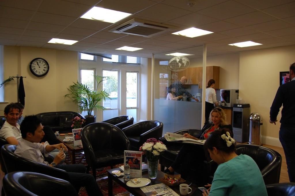 Lounge Zone только для учащихся Platinum course